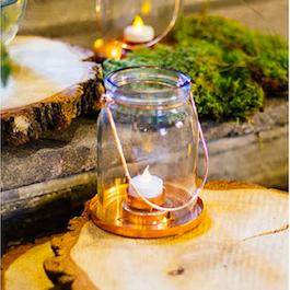 Lanternes cuivrées