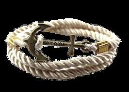 Ankerarmband (cremeweiß)