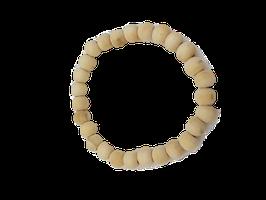 Perlenarmband cremeweiß