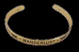 "Armreifen""WANDERLUST"" Gold"