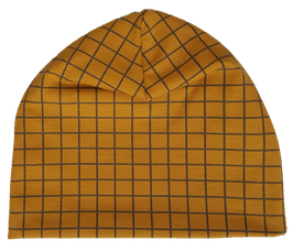 Muts/beanie - Grid Oker