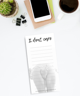 To Do Liste - Dont Care