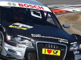 2 Runden, Audi RS 5 DTM Renntaxi Co Pilot, Oschersleben