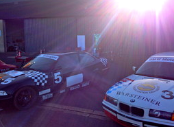5 Runden, BMW E36 Renntaxi, Dahlemer Binz (Vertragspartner Code: ML)