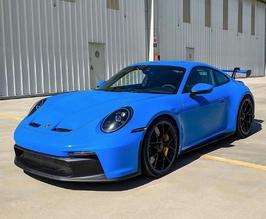 2 bis 3 Runden, Porsche 911 992 GT3 Sportwagen Rennwagen, Nürburgring Nordschleife