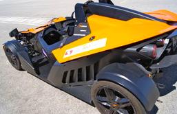3 Runden, KTM X-BOW Renntaxi Co Pilot, Mallorca