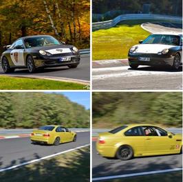 1 bis 15 Runden, BMW M3 E46 oder Porsche 911 Carrera je nach Verfügbarkeit!, selber fahren Nordschleife
