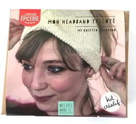 Mon headband tricoté - La petite épicerie