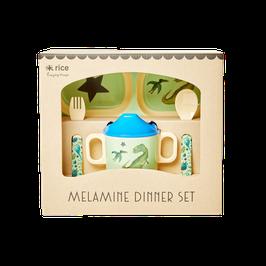 coffret de vaisselle dinosaure - Rice