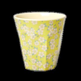 Gobelet flowers yellow- RICE