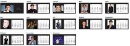 Tischkalender 2015 - Nathan Fillion