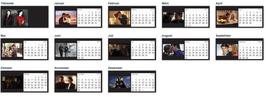Tischkalender 2015 - Castle & Beckett