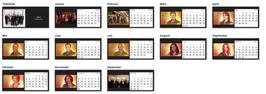Tischkalender 2015 - Castle Cast