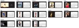 Tischkalender 2015 - Stana Katic