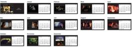 Tischkalender 2015 - Castle Fanart