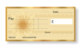 Jumbo Gift Certificate - Gold