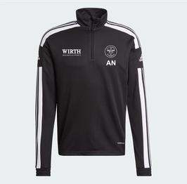 Adidas Squadra 21 Trainingszipper  BLACK/WHITE