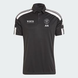 Adidas Squadra 21  Polo Black/White