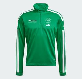 Adidas Squadra 21 Trainingszipper TEAGRN/WHITE