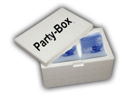 4 x 5kg Crushed ICE inkl. Styropor-Box