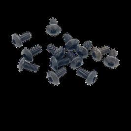 M3 Screw Black (10 pcs)