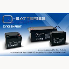 Batterien für Seniorenmobile Scooter Hebehilfen und Lifte auch Fahrlifte