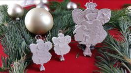 Beton, Steinguss Anhänger Weihnachtsfee