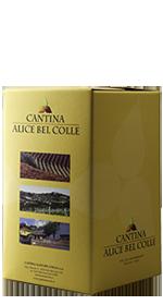 Bag in box Vino Bianco CHARDONNAY 10 L.- Cantina Alice Bel Colle