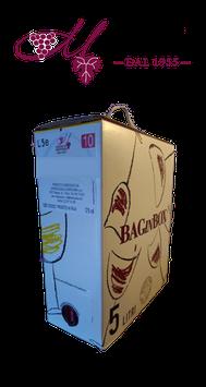 Bag in box Vino BARBERA 5 L. 13° Cantina Sociale di Mantovana