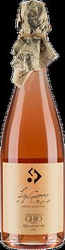 La Canna e L'Orzo Rosé – Vino Spumante di Qualità, Metodo Classico Rosé Azienda Agricola Ghio Roberto Vigneti Piemontemare