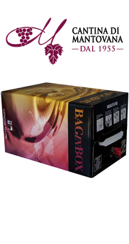 Bag in box Vino Rosso BARBERA 10 L. 11,5° Cantina Sociale di Mantovana