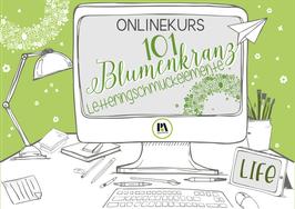OK  101 Blumenkranz Lettering Schmuckelemente