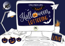 OK Halloween Lettering 2021