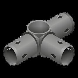 Lochzapfenkupplung 3-armig