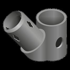 Winkelkupplung (45°)