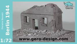 "GERO DESIGN Diorama "" Berlin 1944 "" 1:72"