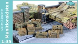 """GERO KERAMIK """"Munitionskisten"""" Deutsche Wehrmacht 1 :35"""