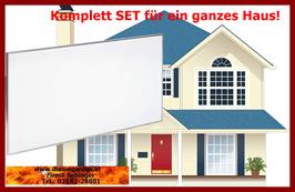 Komplett SET für ein ganzes Haus oder Wohnung zwischen 80 bis 120m2!