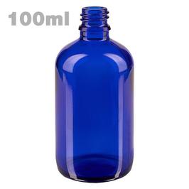 Blauglasflasche 100 ml