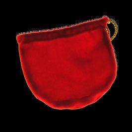 Samtsäckchen rot