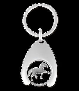 Schlüsselanhänger mit Einkaufchip