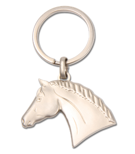 Schlüsselanhänger Pferdekopf