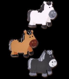 Radiergummi Pferde