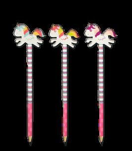 Bleistift Einhorn mit Radiergummi