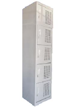 Locker Metalico 5 Puertas.