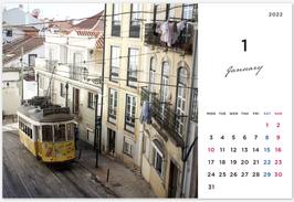 2022卓上カレンダー
