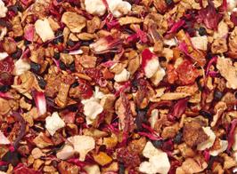 Rhabarberschorle - Früchtetee aromatisiert - säurearm