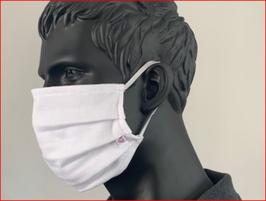 Single Jersey Mund-Nasen-Maske / waschbar & wiederverwendbar