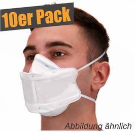 Atemschutzmaske FFP2 / KN95 EN149:2001+A1:2009 / 10er Pack