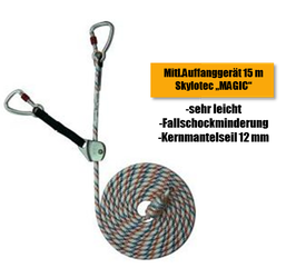 L-0200-15 Skylotec Mitl.Auffanggerät MAGIC, 15 m